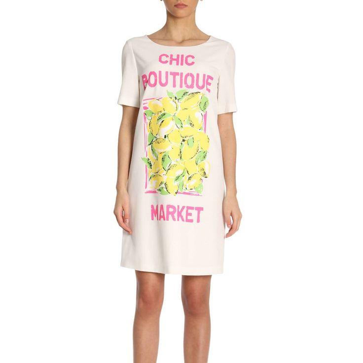 BOUTIQUE MOSCHINO DRESS DRESS WOMEN BOUTIQUE MOSCHINO. #boutiquemoschino #cloth #