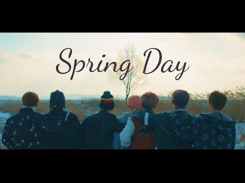 SPRING DAY | BTS | Pronunciacion | Easy Lyrics | Canciones Coreanas como suenan - YouTube