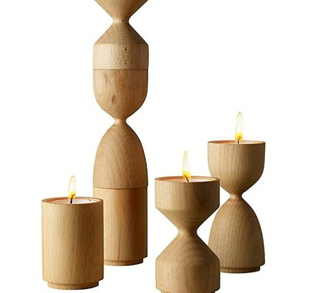 Totem candle holders. Just beautiful