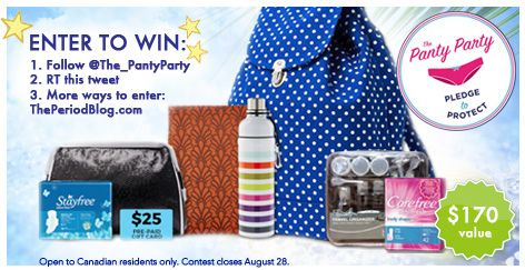 GIVEAWAY! Win a Stayfree Summer Prize Pack! ($170 value) - The Period Blog