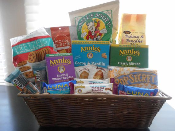 Las 25 mejores ideas sobre gluten free gift baskets en pinterest gluten free gift basket by nutribasket on etsy negle Images