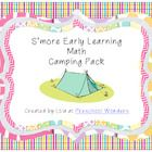 Tons of math related camping activities to use with your little learners!  Many printables are offered in color and black and white.  Fishing Pole/...