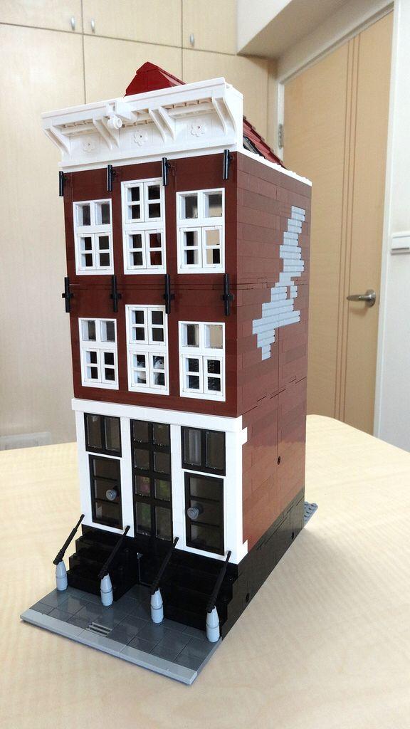 Lego Modular Amsterdam Canal House #2
