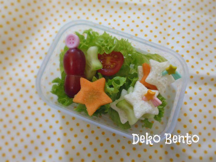Small star lunchbox - dekobento.co.nz