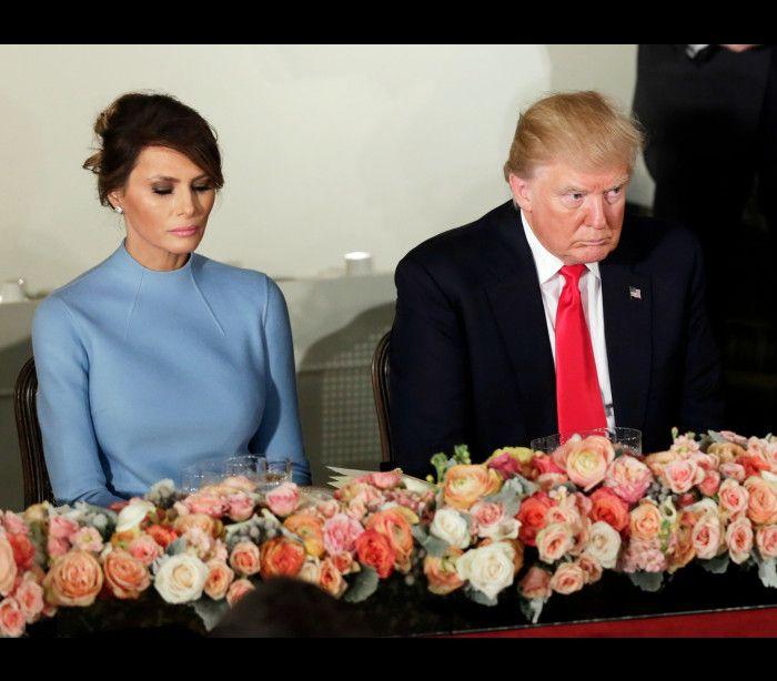 Donald e Melania Trump estarão a dormir em quartos separados   -