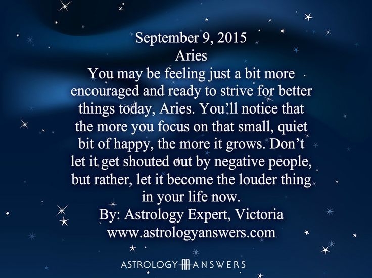 The Astrology Answers Daily Horoscope for Wednesday, September 9, 2015 #astrology