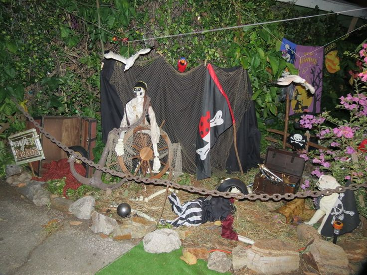 pirate decorations on halloween by dream finder on deviantart - Pirate Halloween Decorations