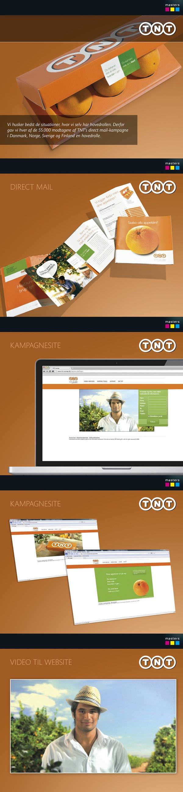 TNT - Kampagne med PURL by Masters Reklame, via Behance #mastersreklame