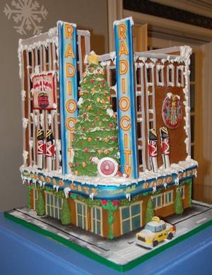 Gingerbread Radio City Music Hall