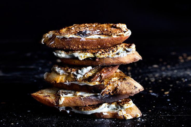 ... about Crunchy Crostinis on Pinterest   Ricotta, Toast and Goat cheese