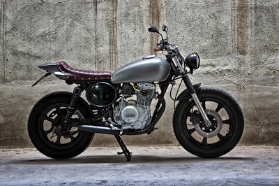 CAFE RACER FORUM . IT - XS 400 Dirt Track