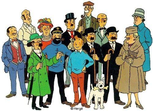 Tintin.  Hergé