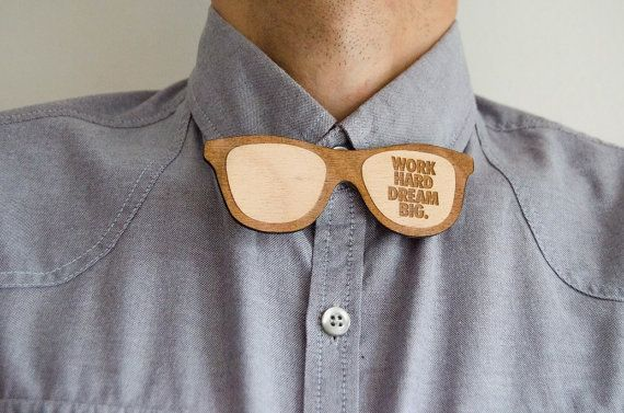 Bow Tie Glasses quotes Men Gift hipster by MustHaveGift on Etsy