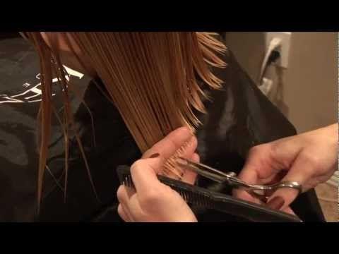 HOW TO CUT GIRLS HAIR // Basic Girls Trim