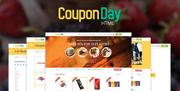 Couponday  Clean And Premium Coupon Template  Couponday Is A