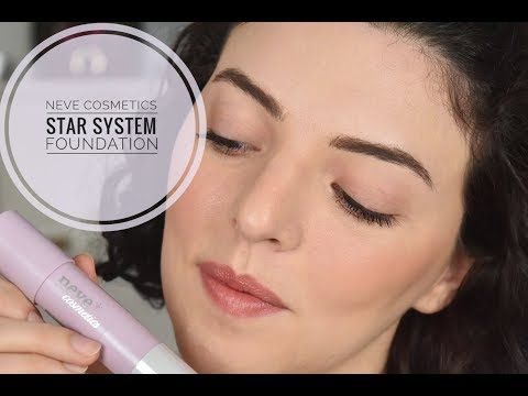 Neve Cosmetics *STAR SYSTEM FOUNDATION* http://cosmetics-reviews.ru/2018/02/24/neve-cosmetics-star-system-foundation/
