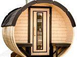 Saunafass / Fasssauna: Scandinavic Wood Art