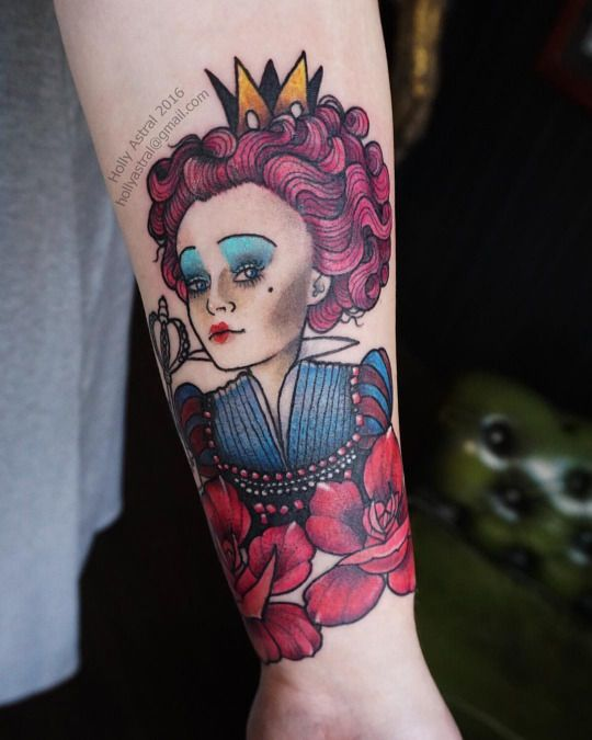 169 best my tattoo work images on pinterest tattoo for Red queen tattoo
