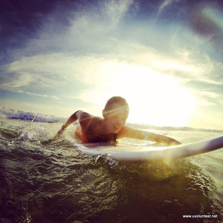 Surfing in Costa Rica. https://www.uvolunteer.net/  volunteer opportunities, volunteer overseas, volunteer organization, volunteer opportunities abroad, volunteer work