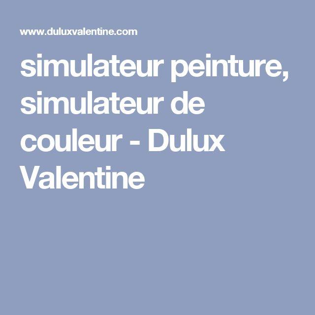 simulateur peinture, simulateur de couleur - Dulux Valentine