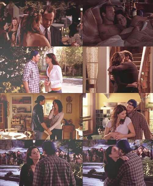 Lorelai and Luke! Possibly my favorite TV couple. There were a few things I may have tweaked in the writing though...