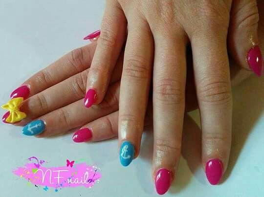 Bow 3D nail