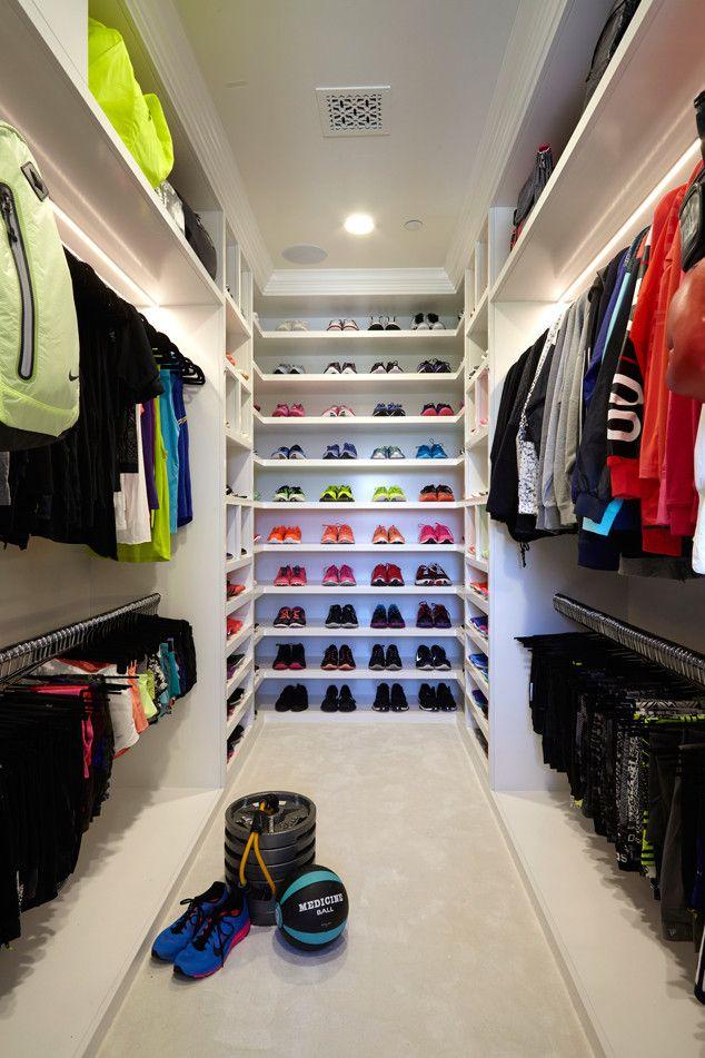 Khloé Kardashian's Fitness Closet Has Everything & Then Some—See Her Epic Workout Wardrobe!  Khloe Kardashian, Closet