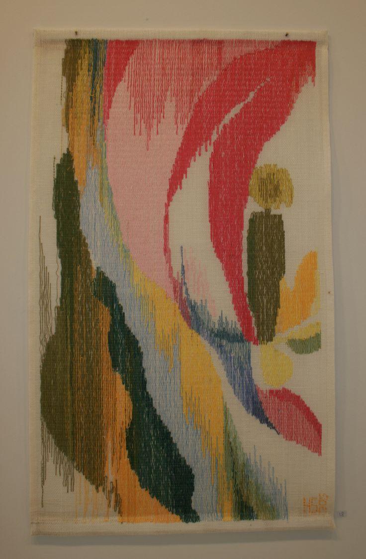 Glimt av glede 2015 Woven textile, tapestry, moorman.