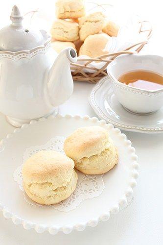 Scones at Morning Tea
