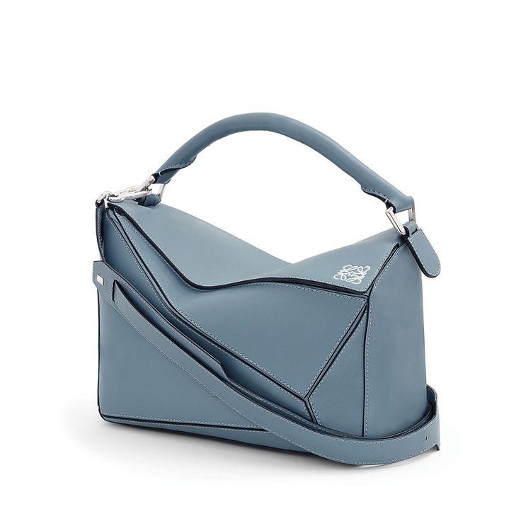 Loewe Puzzle Bag - stone blue