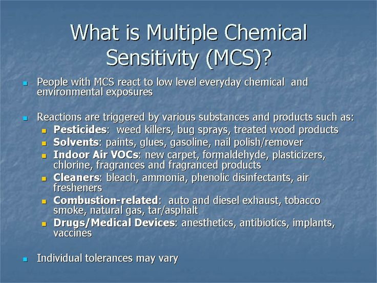 Carpet chemicals allergies