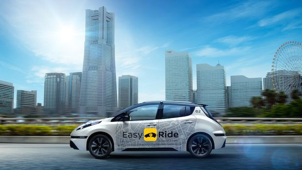 NISSAN Easy Ride, ROBOT TAKSİ, Sürücüsüz Taksi Çözümü. NISSAN, sürücüsüz taksi çözümü Easy Ride'ı tanıttı. ROBOT TAKSİ 2018