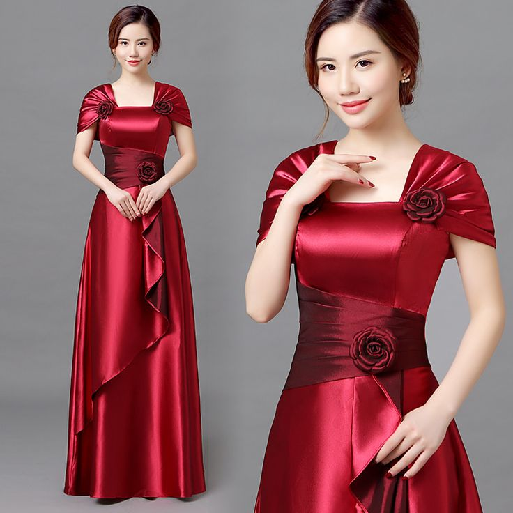Find More Information about Satin Evening Dresses With Short Sleeves Elegant Long Formal Party Gown Wine Red Vestido De Festa Longo Vestidos De Dama Honor,High Quality dress pack,China dress pakistan Suppliers, Cheap dress fittings from Princessally Dresses Store on Aliexpress.com