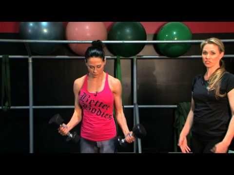Dumbbell Ladder Workout | FitnessRX for Women