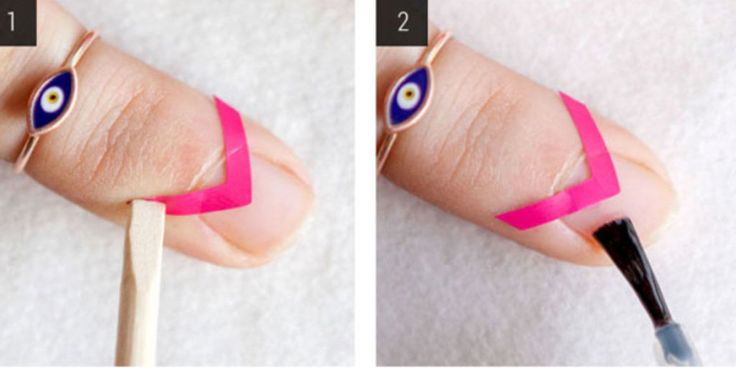 How to Do the Modern Negative Space Mani