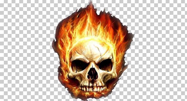 Desktop Garena Free Fire Skull Flame Png 1080p Bone Combustion Desktop Wallpaper Display Resolution Fire Image Backgrounds Free Pattern Illustration