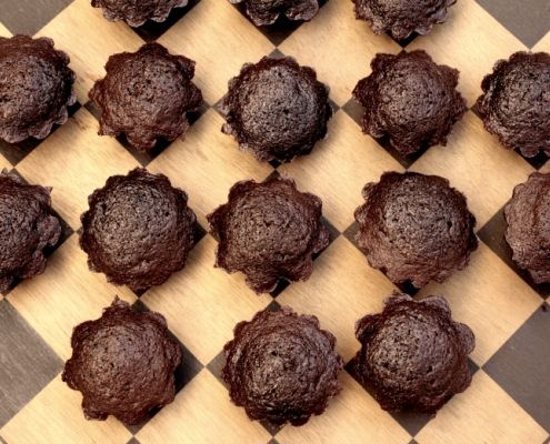 This quick recipe for Chocolate Zucchini Bread Bites is one that should grace every kitchen.