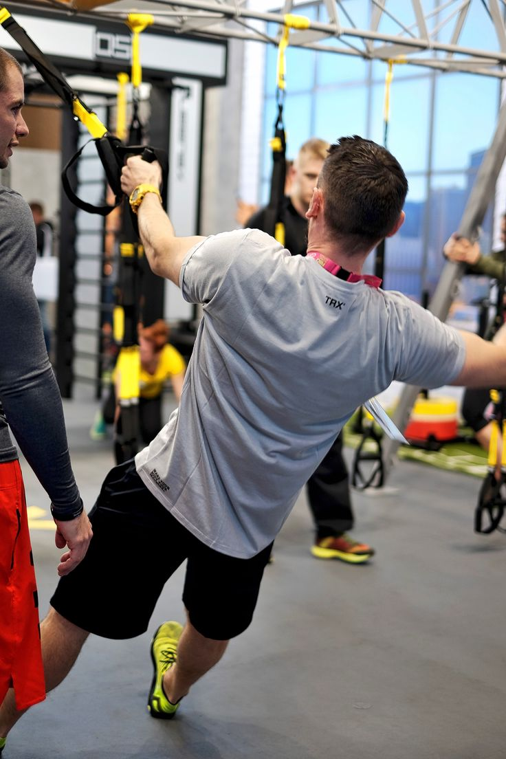 TRX Fitnesstraining auf der Fibo 2016 in Köln