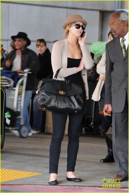 Jennifer Lawrence in MiH Jeans