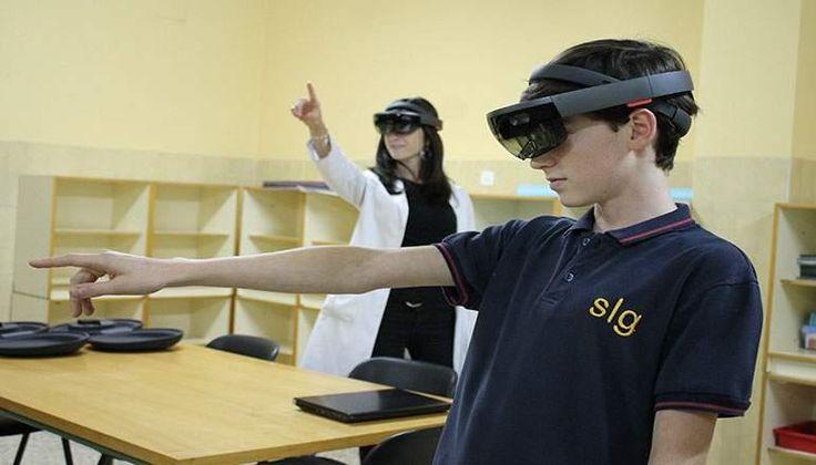 La realidad aumentada entra en las aulas gracias al Colegio Engage y la aplicación HoloSharedExperience para Hololens de Kabel - elEconomista.es