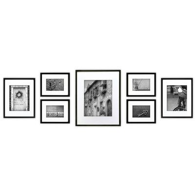 NielsenBainbridge Gallery 7 Piece Perfect Wall Picture Frame Set & Reviews | Wayfair