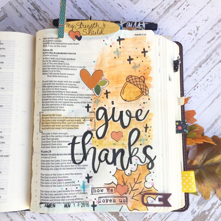 Bible Journaling moments... and a wedding! — A Kiss on the Chic