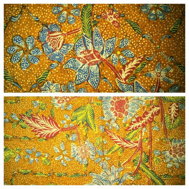 Batik Tulis Antik Tiga Negri Pagi/Sore