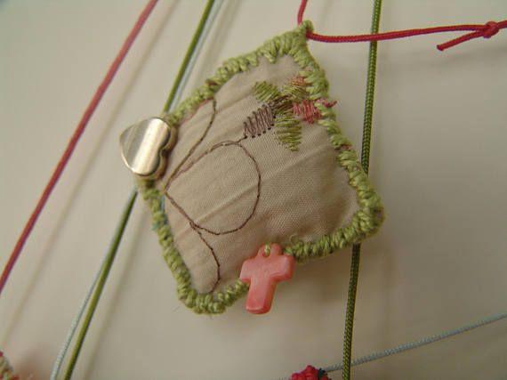 Κοριτσίστικο Μενταγιόν / Χειροποίητο Παιδικό Κόσμημα / Baby