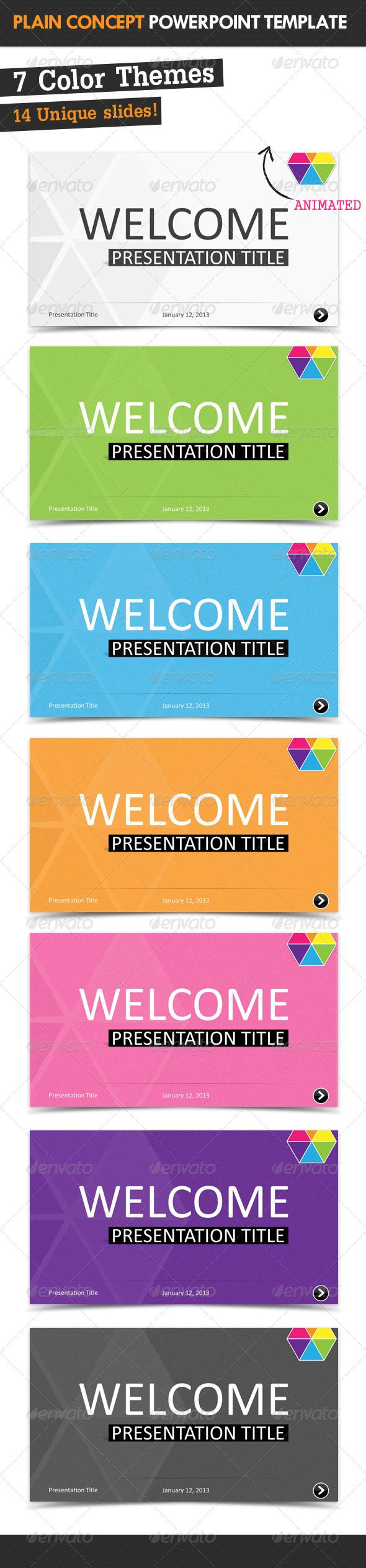 The 25 best ppt file ideas on pinterest power point plain concept powerpoint template toneelgroepblik Gallery