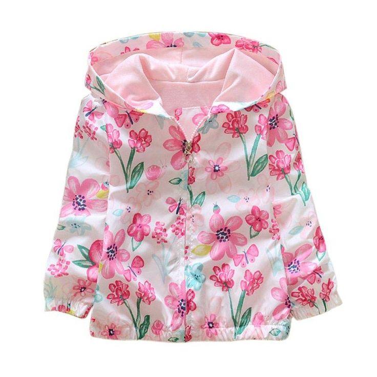 Pink Garden Light Jacket