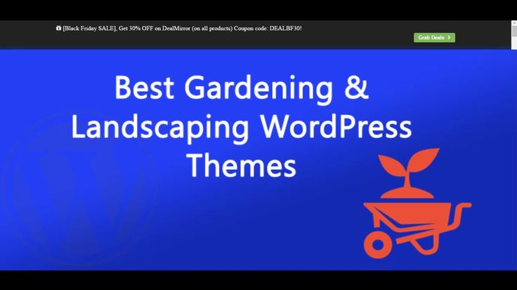 Here are the Best Gardening & Landscaping WordPress Themes 2016 (Free and Premium). This list includes a few free themes, some premium themes, and a few others that offer free & paid versions.