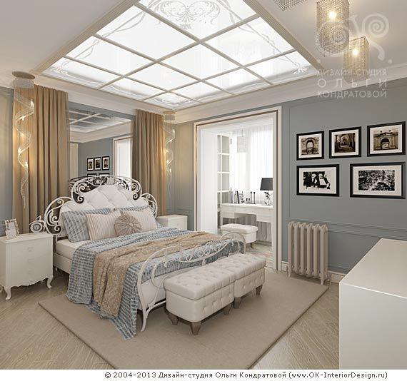 3D дизайн спальни для дочери