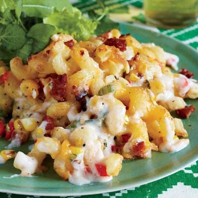 Corn Chowdah Mac n' Cheese....because adding bacon to my homemade mac n' cheese just isn't enough.