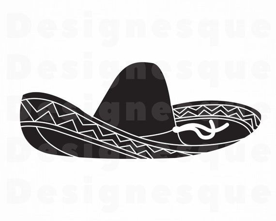 Sombrero 9 Svg Sombrero Svg Hat Sombrero Clipart Sombrero Etsy Sombrero Svg Clip Art